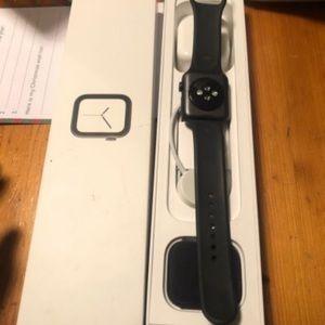 Black series 4 Apple Watch